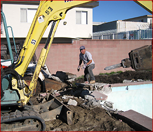 Demolishing Pool