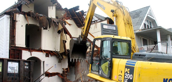 We're Starting a Commercial Demolition Project This Week