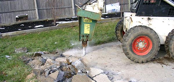 Concrete Demolition and Driveways