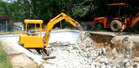 4 Reasons Why People are Opting to Demolish a Pool
