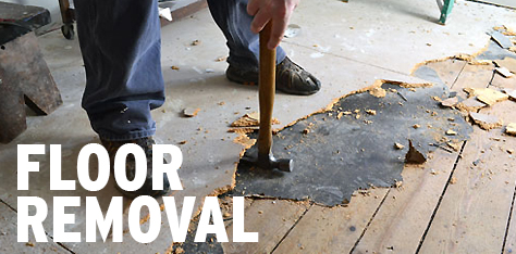 Floor Demolition & Removal