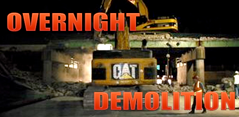 Overnight Demolition