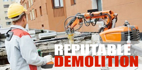 Reputable Demolition Company