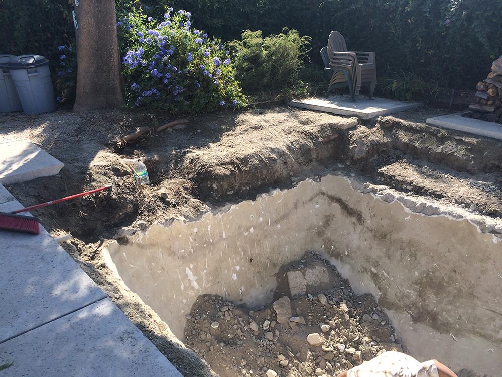 Swimming Pool Removal Demolition Services 888 666 8808 Los Angeles Demolition Contractor