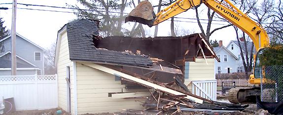 Deconstruction Pro Garage Demolition