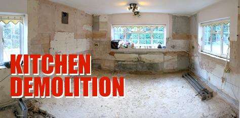 Los Angeles Kitchen Demolition