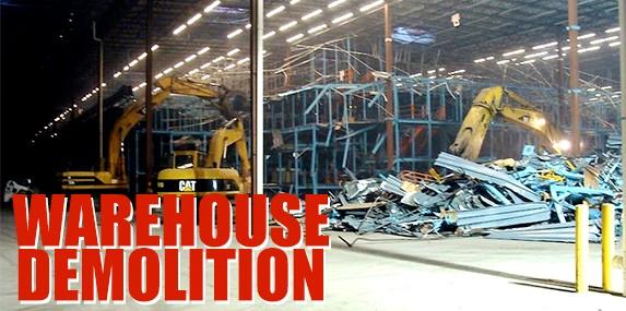 Warehouse Demolition Services
